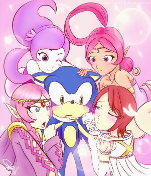 Sonic fangirls by idolnya