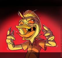 Vampire duck by SeaGerdy