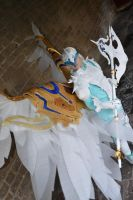 Aion abyss plate unicorn armor by envoysoldiercosplay