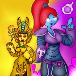 The Goddesses of Skylands by MonsterMan25