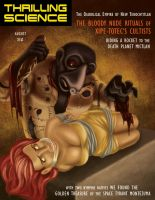 Thrilling Science: Bloody Nude Rituals by mapacheanepicstory