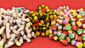 Traditional Syrian Candy by merage