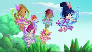 Baby Winx (Butterflix Form) by montey4