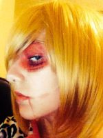 Female Titan Makeup test by CoolShazza