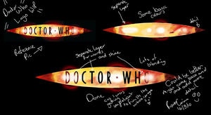 Doctor Who Logo WIP Tutorial by ravengrimm