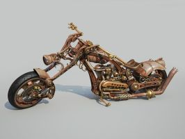 Chopper Steampunk style WIP 7 by Aci-RoY