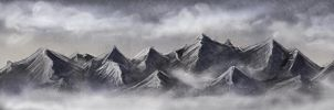 Speedpaint: Mountainyness by ShadowDragon22