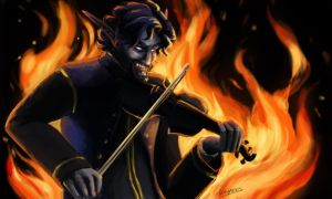 Devils Fiddle by MadAlleyCat