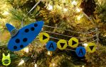 Ocarina of Time Music Ornament (Tutorial) by studioofmm