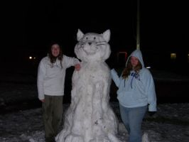 Finished Snow Kitty by Ravwrin-NataEl