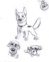 bolt drawings by Wolf-Shadow77