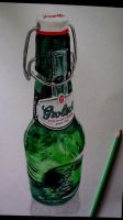 Grolsch Beer Bottle by robiartimre