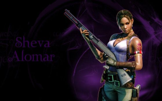 Sheva Alomar by Isobel-Theroux