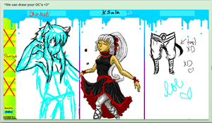 iScribble: OC drawing by Frenchielover4ever