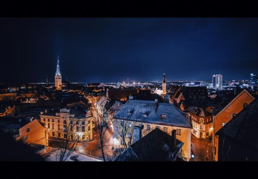 Night Tallinn by Tori-Tolkacheva