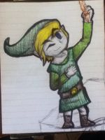 Toon Link by TheDragonInTheCenter