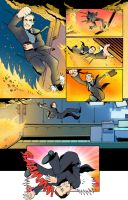 Test S.H.I.E.L.D. comic Page Three by Saturn-Kitty