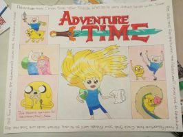 Adventure Time Poster by sammygal99