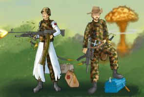 Soldiers by Sehad