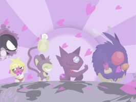Purple Pokemon by SteveKdA