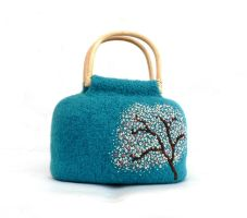 Sakura Bag by MuffinTopKnits