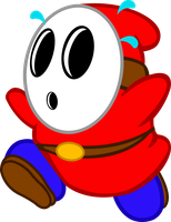 Shy Guy Vector by InternationalTCK