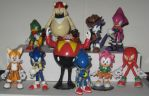 Sonic the Fighters cast by Wakeangel2001