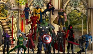 The Unstoppable Avengers of Universe 2126 by WOLFBLADE111