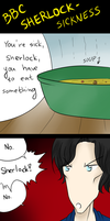 BBC Sherlock - Sickness by Dyamirity