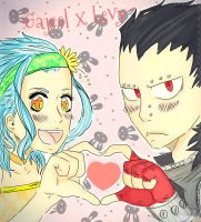 Gajeel Levy heart by 191195