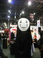 spirited away-no face cosplayer by UndertakerisEpic