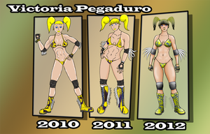 Victoria Pegaduro Through 2010 2011 2012 by xZeroMan