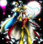 Galaxia and Dreama by FighterAmy