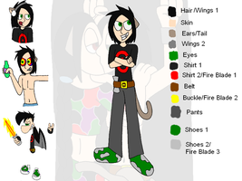 Neshae Character Sheet 7 by HyperactiveMothMan