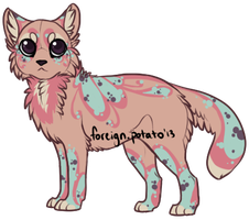 Cat design 1 by foreign-potato