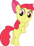 Card Crusher Apple Bloom by masemj