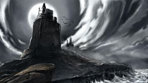 Dracula's Castle by cgkevin