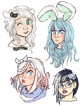 GaiaOnline Avatar Doodle Dump by TinyTimelord