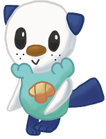 Lawrence the Oshawott by converselover24