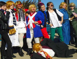 APH Cosplay-Face Family Reunion by nursal1060