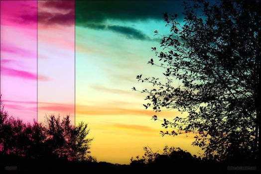 Colourful Sunrise by jnOne