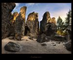- Rockjammed Gorge - by UNexperienced
