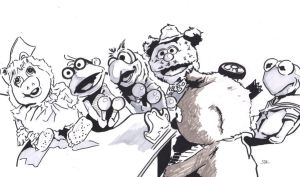 Muppet Babies by monstercola