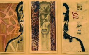 Ziggy Stardust-College project by Medicated-Kitty