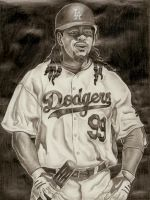 Manny Ramirez by DirtyD41