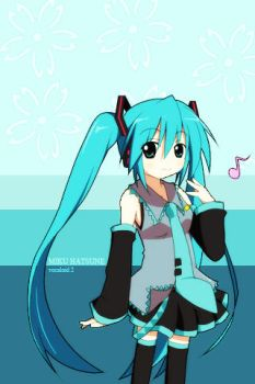 Another Miku for the iPhone by cosplayhorizon