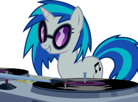 DJ-PON3 at work by uxyd