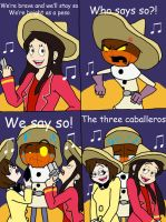 The Three Caball...What? by KiaraLPhoenix
