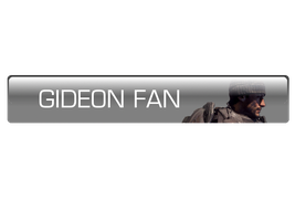 Gideon Fan Button by crazautiz