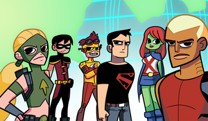 Young Justice vs the World by StevenRayBrown